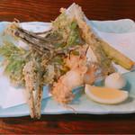 よしむら - 季節野菜の天麩羅