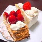 パティスリー・ラ・ベルデュール - ナポレオンケーキ、ショートケーキ