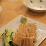 寿司はしもと -  煮アナゴ焼き