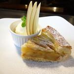 Cafe and Bar on℃ -温度- - 温かいアップルパイとアイスクリーム