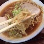 かなめ食堂 - 麺アップ