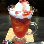 Cafe and Bar on℃ -温度- - ミックスベリーソーダフロート