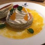 パンケーキ&スイーツ ブラザーズカフェ - スコッキー〈アールグレイ×オレンジ)