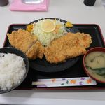 豚菜 - チキンカツ定食