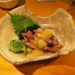 67029725 - ホタルイカ 酢味噌