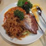 景徳鎮 - 三種冷菜の盛り合わせ