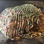 お好み焼きしんちゃん - 料理写真:広島風ミックス♪