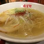 67030994 - 鶏清湯スープが爽やかな塩ラーメン(2017.5.14)