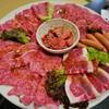 吉挑 - 料理写真:お肉の盛り合わせ