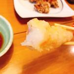 海鮮問屋 柿の匠 - 天ぷら盛り合わせ 1000円 海老分厚くプリプリ