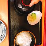 海鮮問屋 柿の匠 - 銀しゃりセット 300円