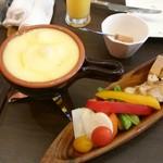 67032931 - チーズフォンデュ