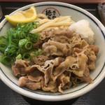 さぬき麺市場 郷東店 - 肉ぶっかけ 写真のみ追加2017年5月
