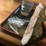 さぬき麺市場 郷東店 - おにきらず←クッキングパパ参照