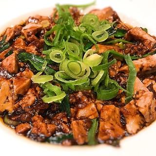 山水樓 - 料理写真:おすすめの麻婆豆腐