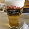 アサヒビール - ドリンク写真:1杯目は スーパードライ エクストラコールド( ´∀`)