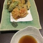 Sue - 野菜の天ぷら盛り(再訪)