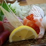 割烹 なかむら - 刺身盛合せ(5種)1,620円