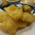 割烹 なかむら - いか天ぷら 840円