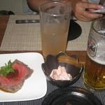 旬彩酒楽 ぴえろ - 選べるお通し、ローストビーフも!
