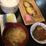 67039643 - お魚の日替わりランチ   鰆の西京焼き