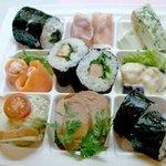 松原亭 - お持ち帰り用フォアグラ寿司いりパレットオードブル