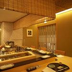 天ぷら 天芝 - 個室イメージ