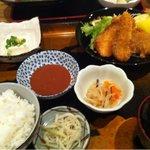和食ふじわら - 料理写真:白身魚フライ定食
