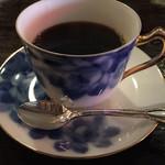 武蔵野珈琲店 - ブレンドコーヒー、580円。