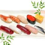 つきぢ神楽寿司 - ランチ握り