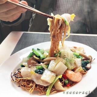 施家菜 - 香港式あんかけ焼きそば