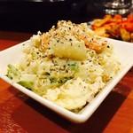 焼肉おおにし - ポテトサラダ(380円)