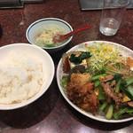 大阪王将 - ランチA2 730円