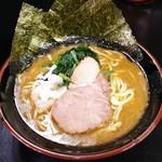 横浜家系ラーメン 大天空丸 - ラーメン 650円
