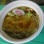 竹國うどん・そば - 料理写真:2017年4月再訪問