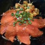 発酵キッチン tokotoko - アボカドサーモン丼