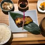 ラハン - メジナの西京焼き定食