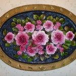 アン テラス - 沢山のお花があります。