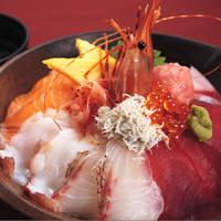 駿河亭 - 大盛海鮮丼\1380