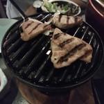 67050513 - 漁業団特製のごちそう まぐろ焼肉