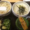 丸まさ - 料理写真:食べ比べ2種セット(かけ、生醤油)