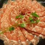 小肥羊 - ラム肉。