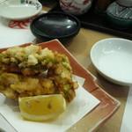 うまい鮨勘 - アボカドのおかき揚げ