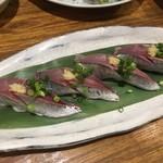 えぼし - アジ寿司