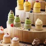 タボラ36 - 一口サイズのカラフルなカップケーキ