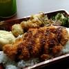 上間弁当天ぷら店 - 料理写真:ミニDX弁当(ささみ)