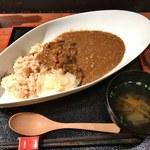 青柚子 - 「魚がしカレー」850円