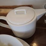 橅 - 蕎麦湯