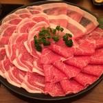 67055696 - しゃぶしゃぶコース お肉