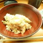 懐石料理 桝田 - サクラエビのご飯